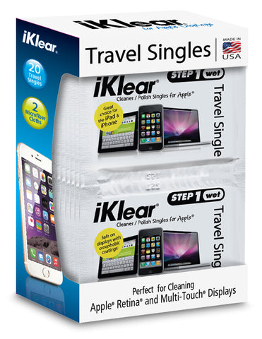iKlear Travel Singles Kit (20 QTY)