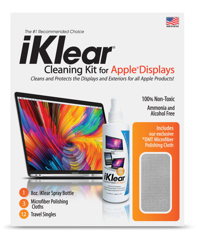 iKlear 8 oz. Deluxe Cleaning Kit - iK-5MCK
