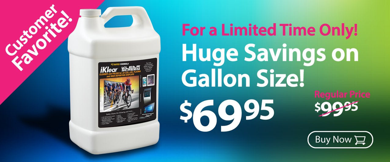 Klear Screen DMT Antimicrobial Microfiber Cloth