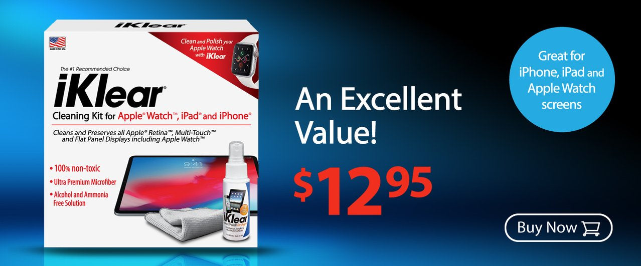 iKlear 2oz. iPad & iPhone Cleaning Kit