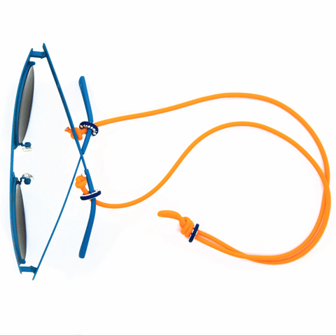 Sunglass Hanger-Neon Orange