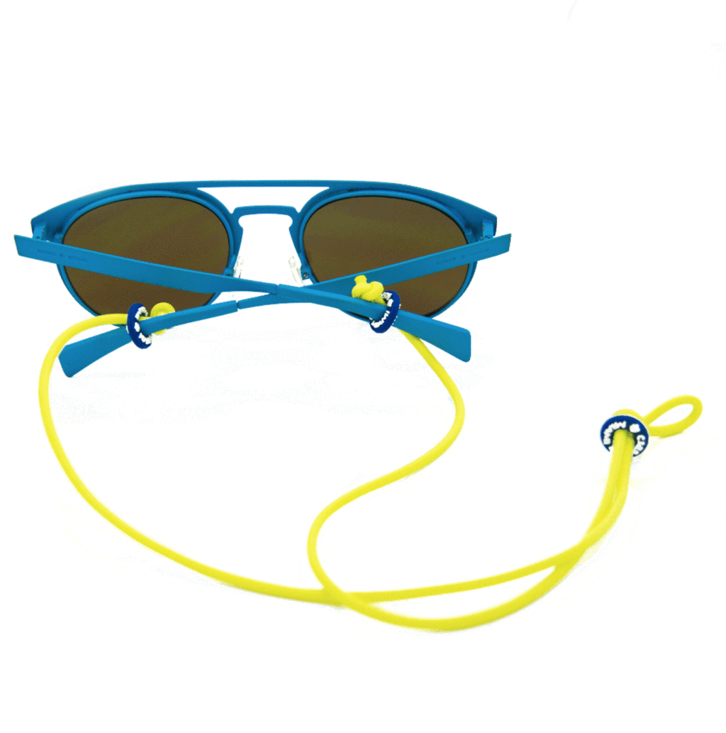 Sunglass Hanger-Neon Yellow