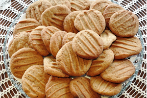 Olive Oil Almond Cookies
