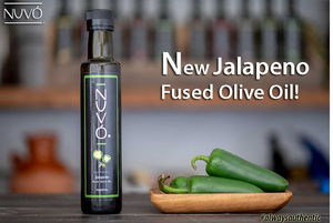Fused Jalapeno Olive Oil has Never Tasted Better -- Superfood for Foodies!