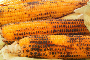 Grilled Cob With Grilled Tomato Oil