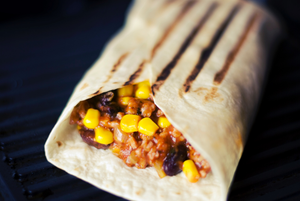 Vegetable Burritos With Black Beans