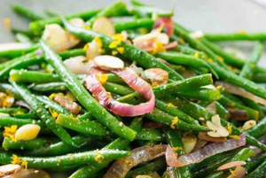 Green Beans With Crunchy Almonds