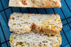 Gluten Free Olive Oil Cheese Bread