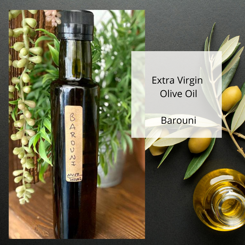 Barouni Extra Virgin Olive Oil - single varietal