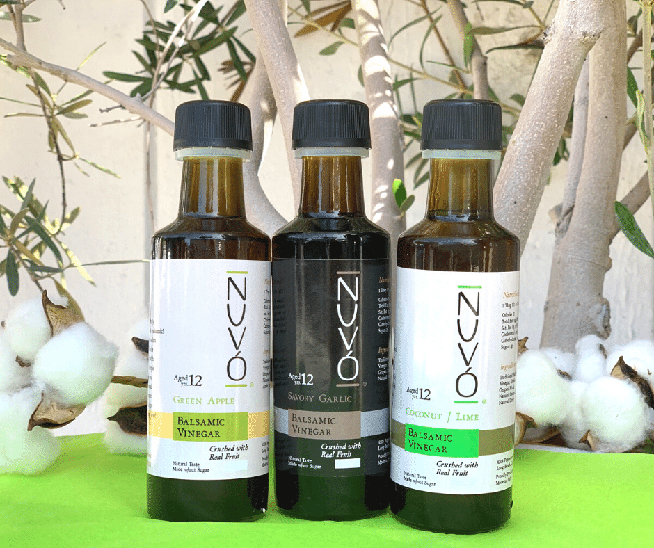 The Three Amigos - Garlic Dark Balsamic, Green Apple White Balsamic, Coconut/Lime White Balsamic