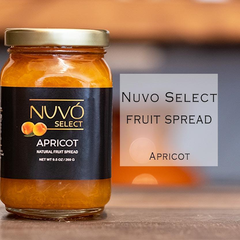 Apricot Fruit Spread | Nuvo Select
