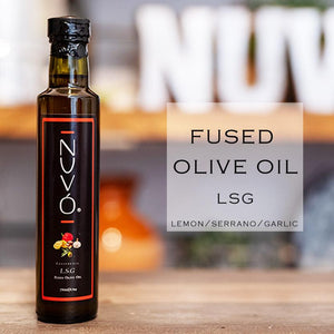 Fused Olive Oil  - L.S.G. (Meyer Lemon/Serrano/Garlic)