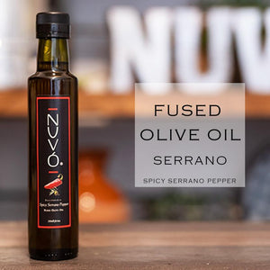 Fused Olive Oil - Serrano Pepper