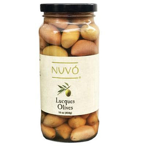 Lucques Olives - Slow Cured - Nuvo Olive Oil