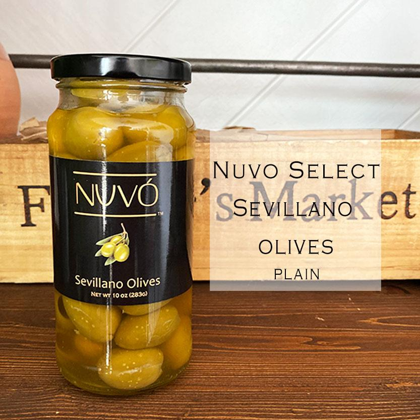 Pitted - Sevillano Olives - The Martini Olive
