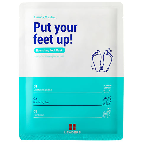Essential Wonders Put Your Feet Up! Mask - Front