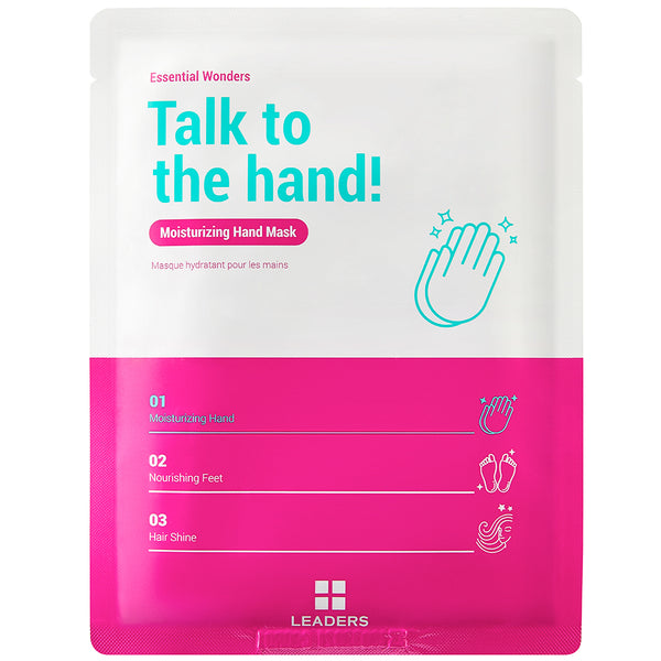 Essential Wonders Talk to the Hand! Mask - Front
