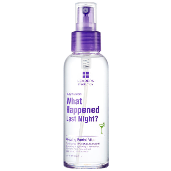 Daily Wonders What Happened Last Night Glowing Facial Mist Spray
