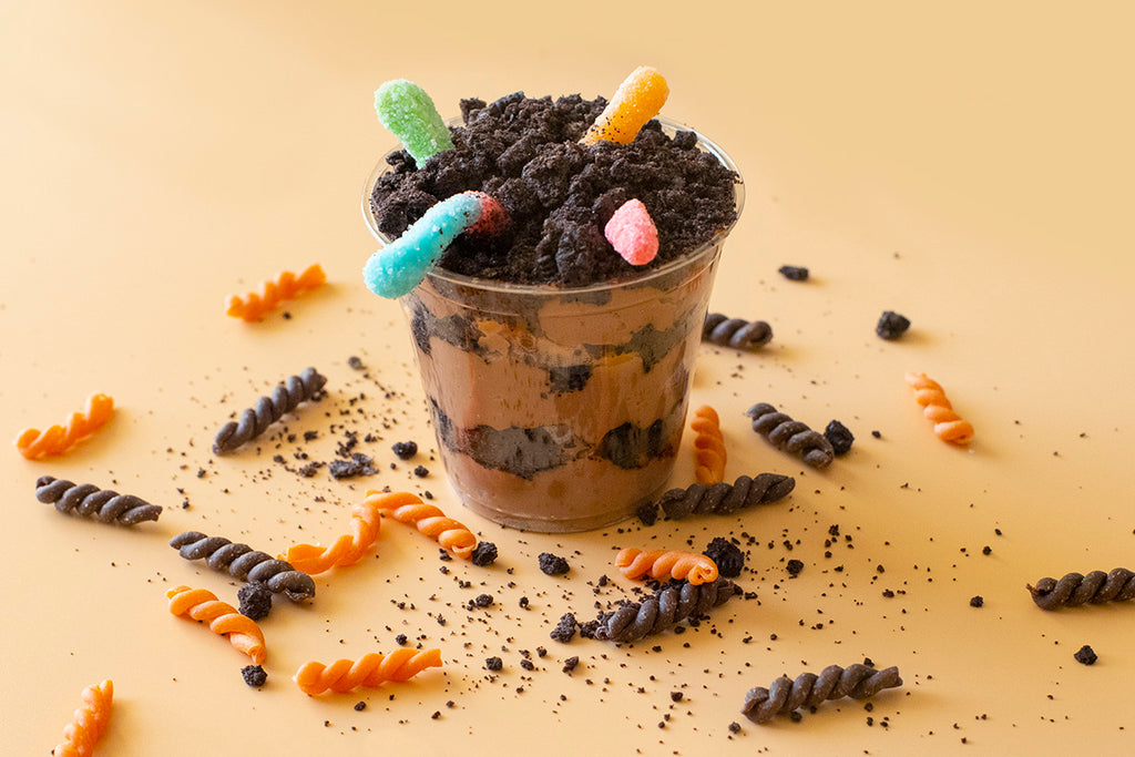 "Chocolate & Orange Gemelli Halloween ""Graveyard Dirt"""