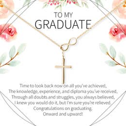 Graduate Cross Necklace