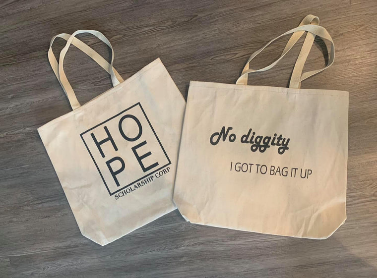 No Diggity Hope Scholarship Bags