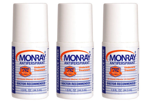 3-Pack of Monray Underarm Treatment