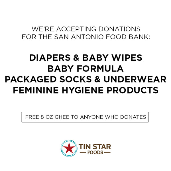 Donate Your Harvey Relief Items at Tin Star Foods HQ