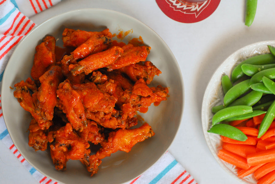 Brown Butter Hot Wings