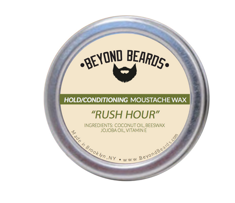 Mustache Wax Rush Hour 1OZ