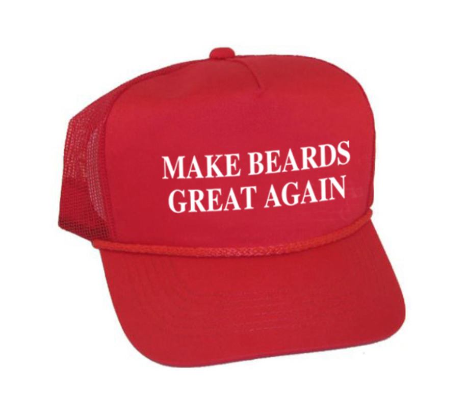 Make Beards Great Again - Snapback Hat