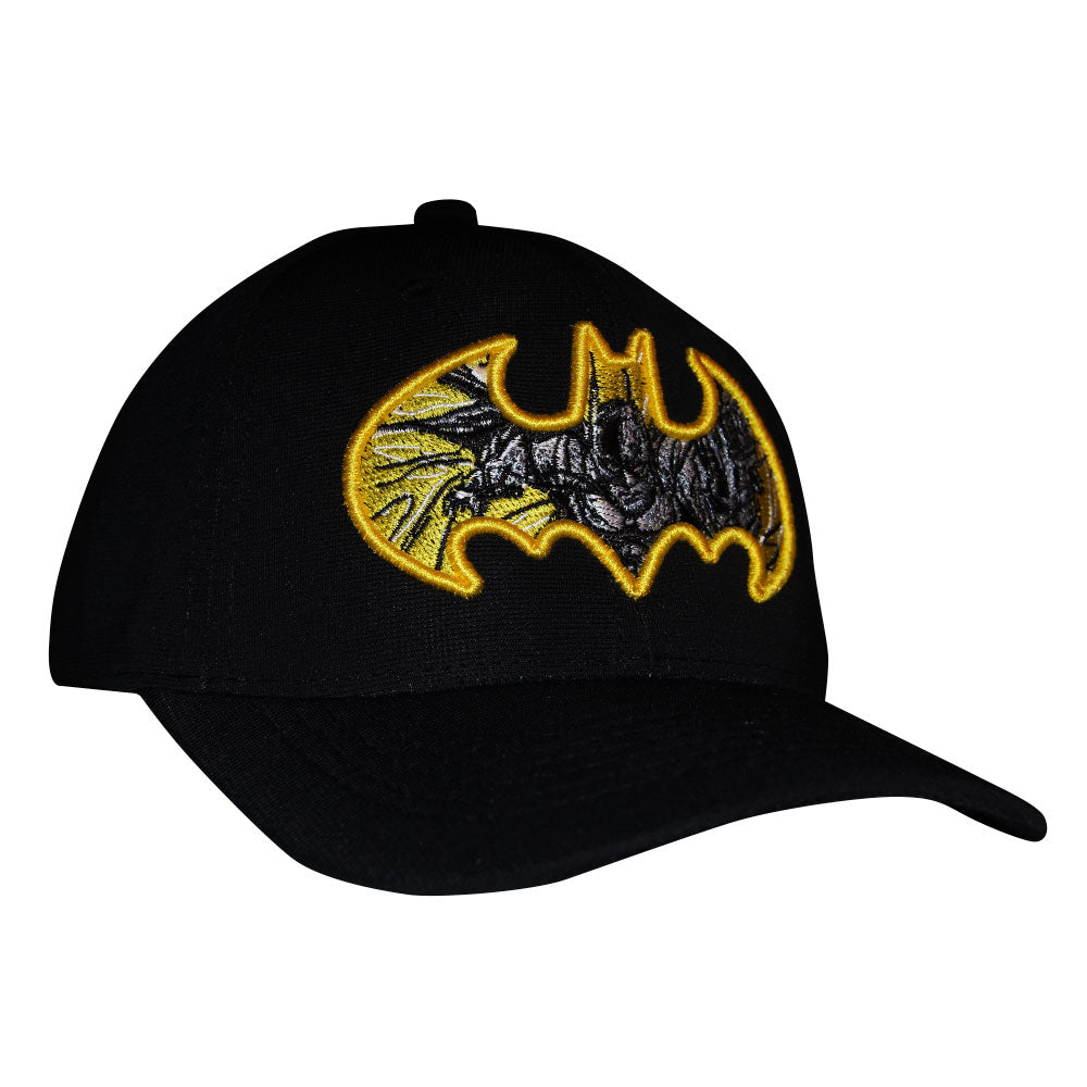 Gorra Flex Batman Yellow Sketch
