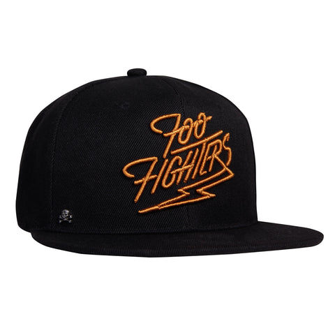 Gorra Plana Foo Fighters Dorado