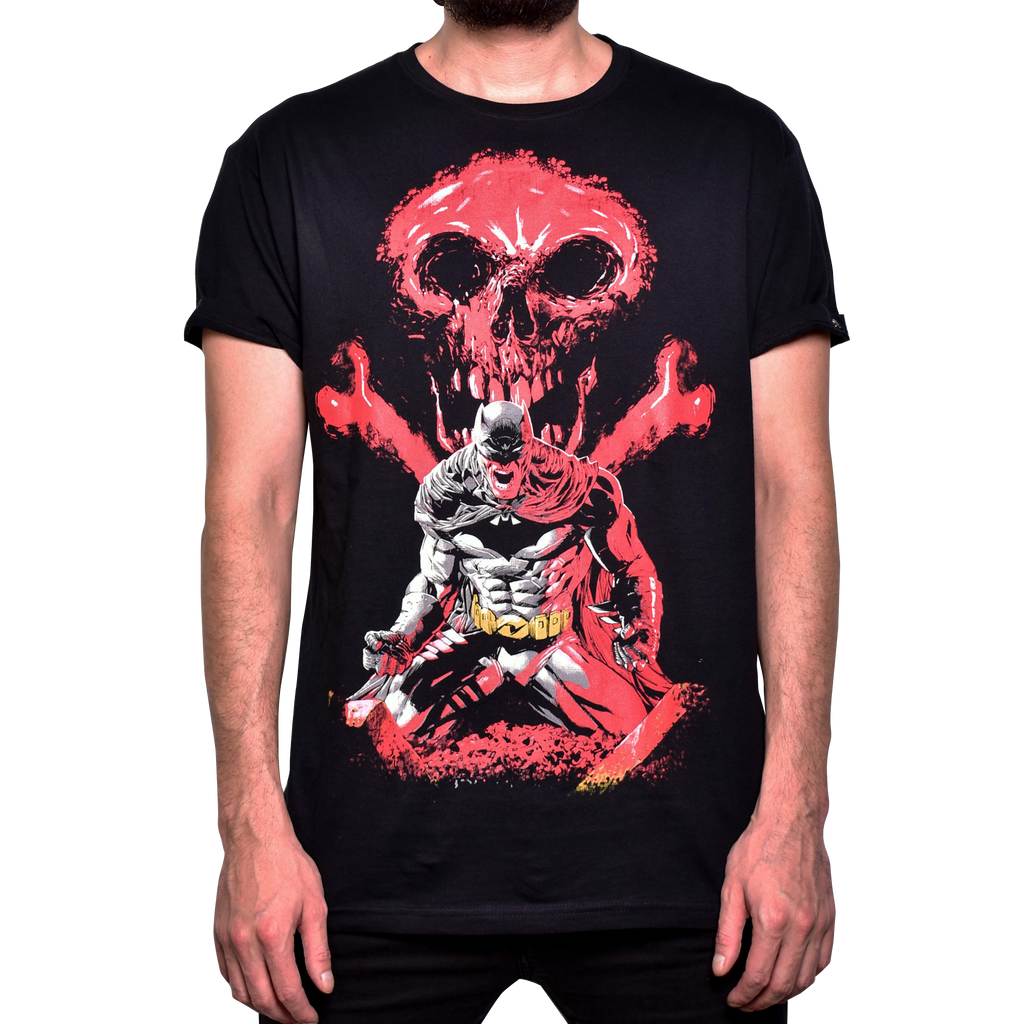 Playera Batman Skull