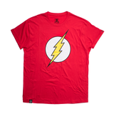 Playera Logo Flash Roja