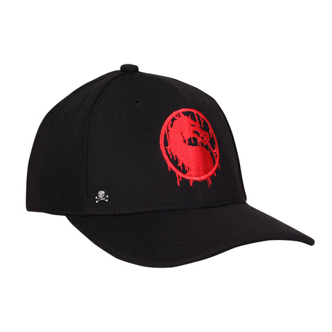 Gorra Baseball Dragon MK Bloody / Negra