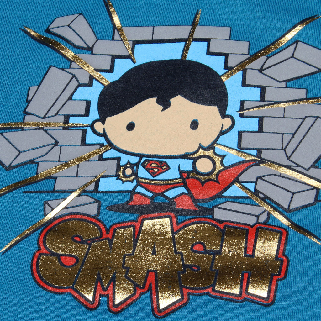 Blusa Niña Superman Smash Chibi