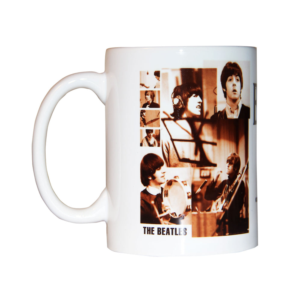 Taza The Beatles Gold Mexico