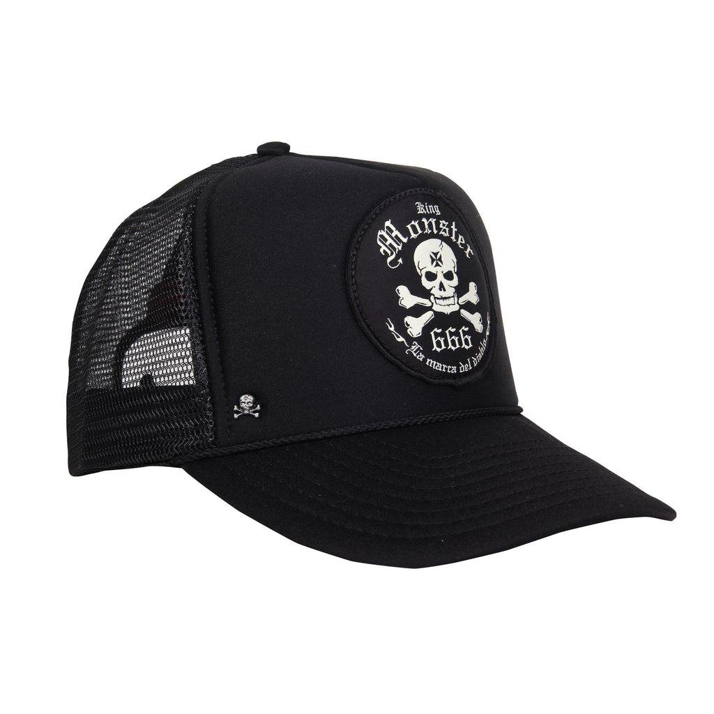 Gorra Trucker Logo Monster Parche