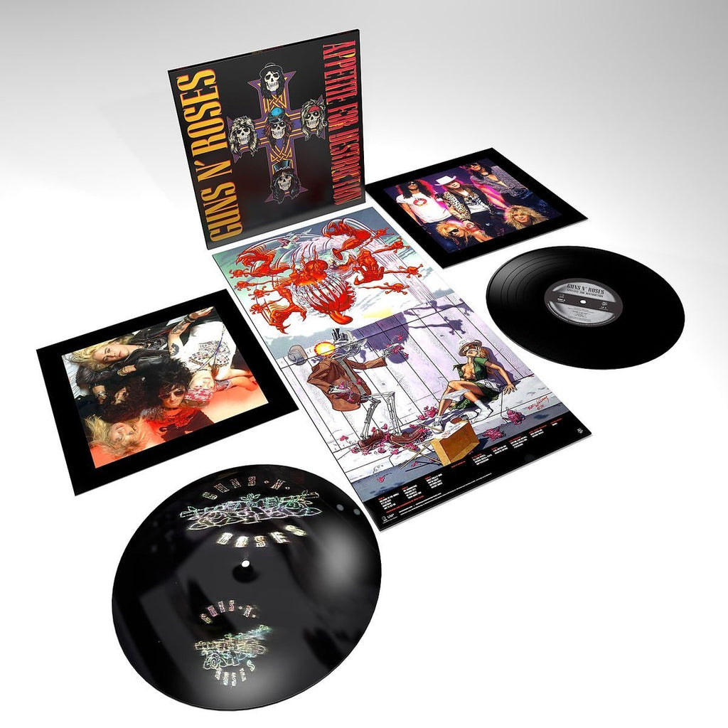 Vinyl Guns N' Roses - Appetite For Destruction