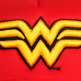 Gorra Logo Wonder Woman Trucker Roja