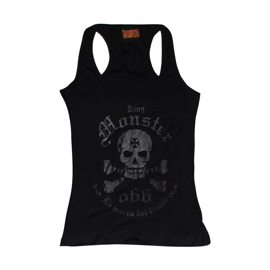 BLUSA TANK TOP LOGO KINGMONSTER BARNIZ