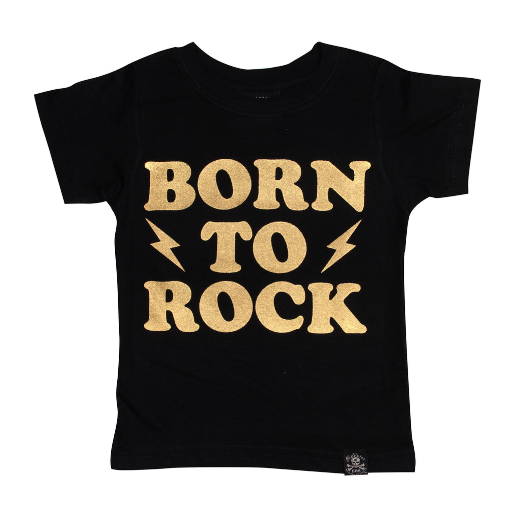 Playera Niño Born To Rock