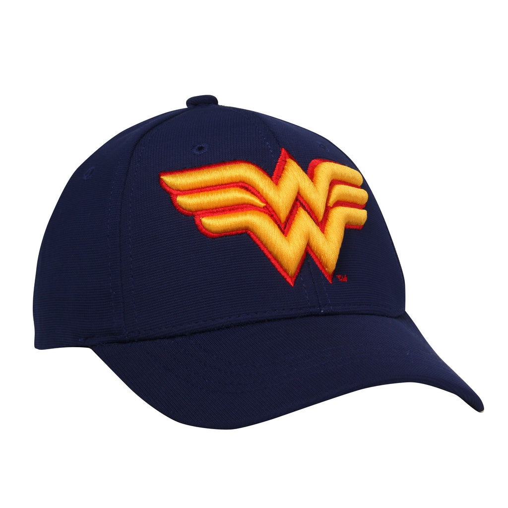 Gorra Baseball Flex Logo Wonder Woman Azul