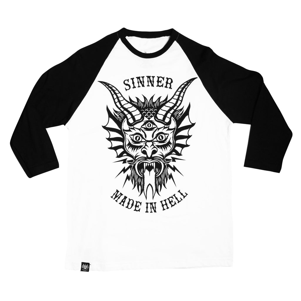 Playera 3/4 LMDD Sinner