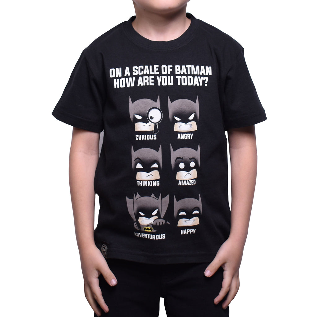 Playera Niño Batman Emoji