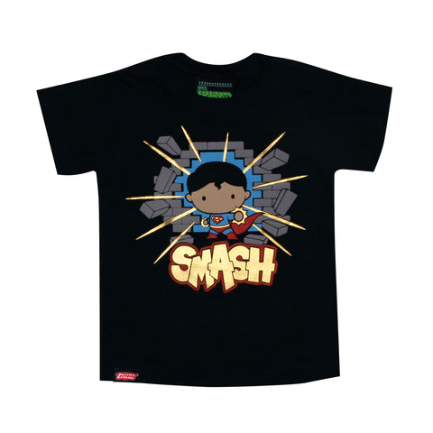 Playera Niño Superman Smash Chibi