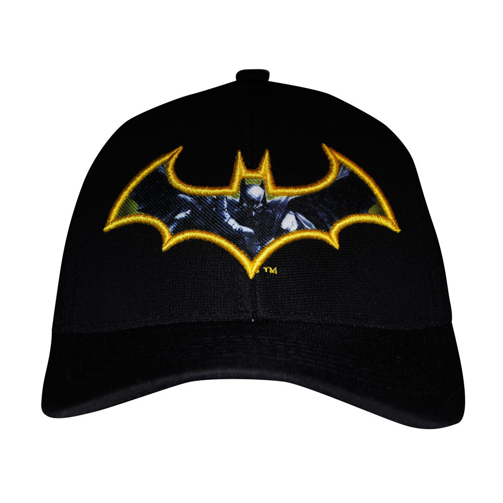 Gorra Baseball Flex Batman Yellow Origins
