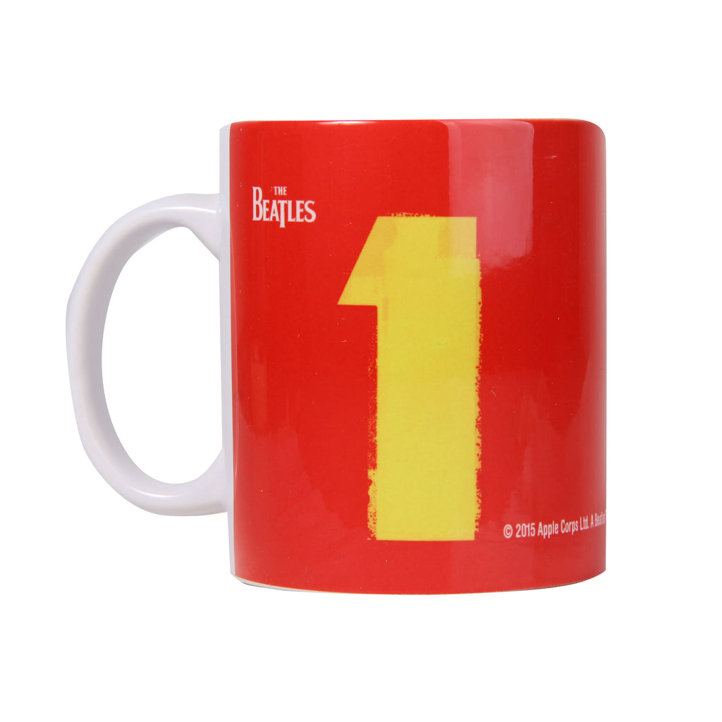 Taza The Beatles Is Red Mug