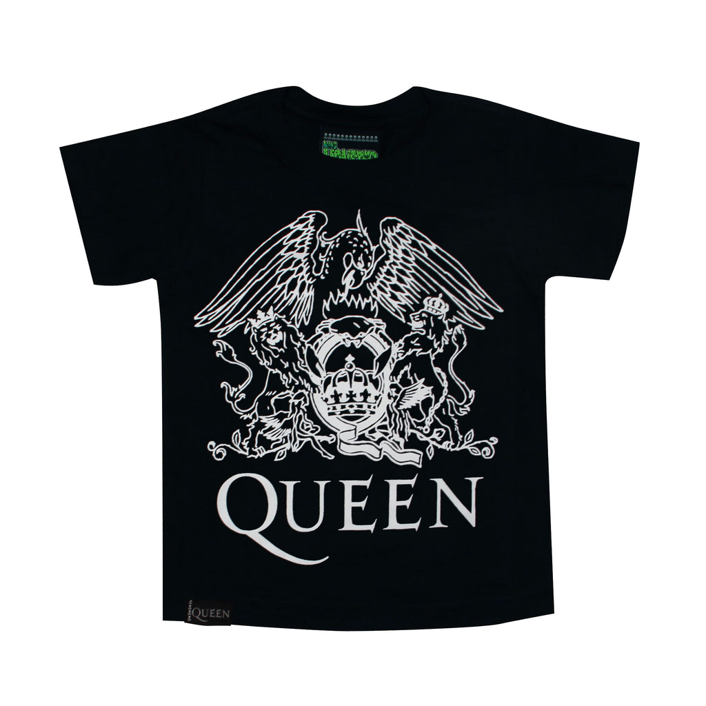 Playera Niño Logo Queen