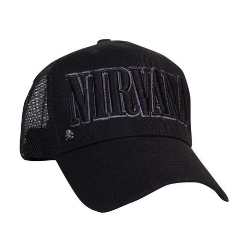 Gorra Trucker Nirvana Black